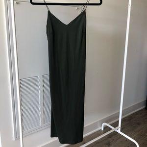 Windsor green bodycon midi dress